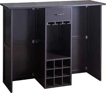 2L Lifestyle Southwood Folding Wine Cabinet