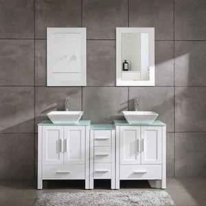 """60"""" Vanity Double Sink Combo"""