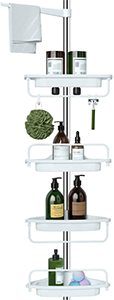ALLZONE Tension Corner Shower Caddy