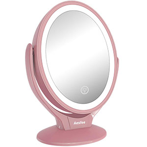 Aesfee LED Lighted Vanity Mirror