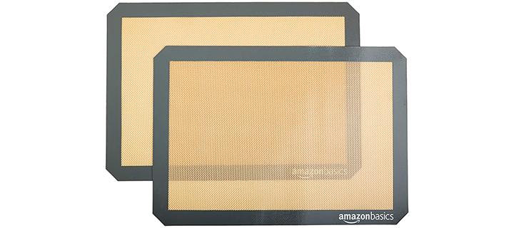 AmazonBasics Silicone Baking Mat Sheets
