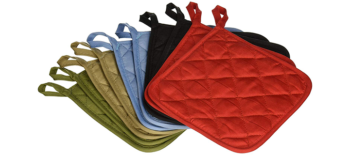American Linen (Ten) 10 Pack Pot Holders
