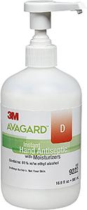 Avagard D 3M Healthcare Sanitizer Hand Gel with Moisturizer