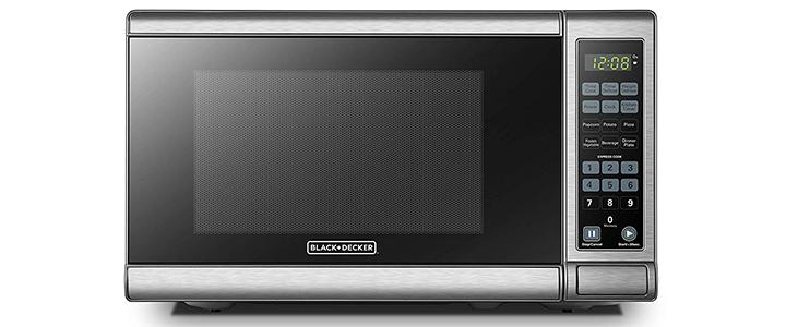 BLACK DECKER EM720CB7 Digital Microwave Oven