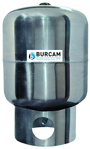 BURCAM Vertical Well Pressure Tank