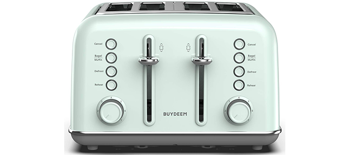 BUYDEEM DT-6B83G 4-Slice Toaster