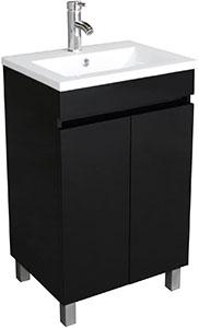 Bathjoy 20 Bathroom Vanity Cabinet with Undermount Sink