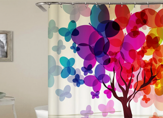 Best Colorful Shower Curtains