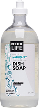 Better Life Dish Soap Unscented