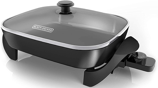 Black & Decker SK1215BC Family-Sized Electric Skillet