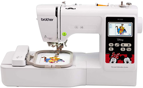 Brother Embroidery Machine with 125 Built-in Designs