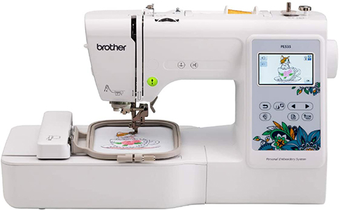 Brother Embroidery Machine with 80 Built-In Designs