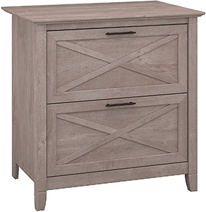 Bush Furniture Key West 2-Drawer Lateral File Cabinet