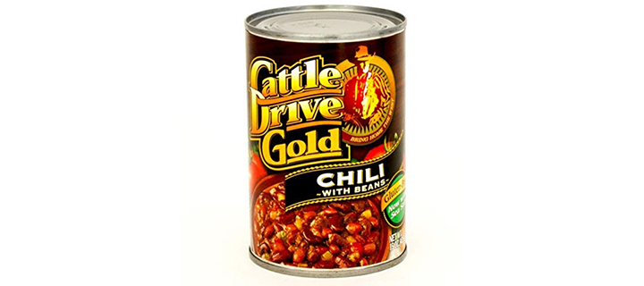 Cattle Drive Gold Beef Chili with Beans