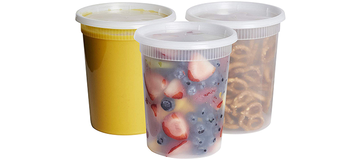 Comfy Package Plastic Deli Food Storage Containers