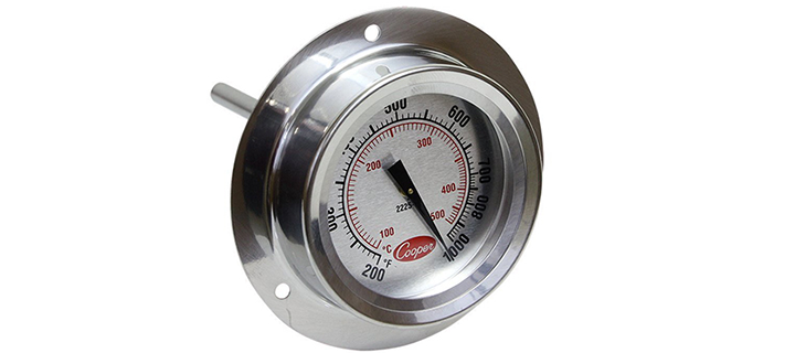 Cooper-Atkins Stainless Steel Bi-Metals Industrial Flange Mount Thermometer