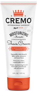 Cremo Coconut Mango Moisturizing Shave Cream