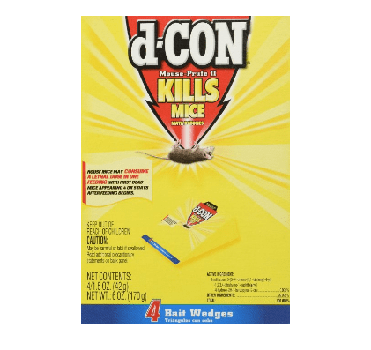 D-Con Mouse Prufe II 4 Pack