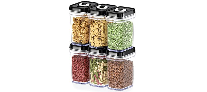 DWELLZA Kitchen Airtight Food Storage Containers with Lids