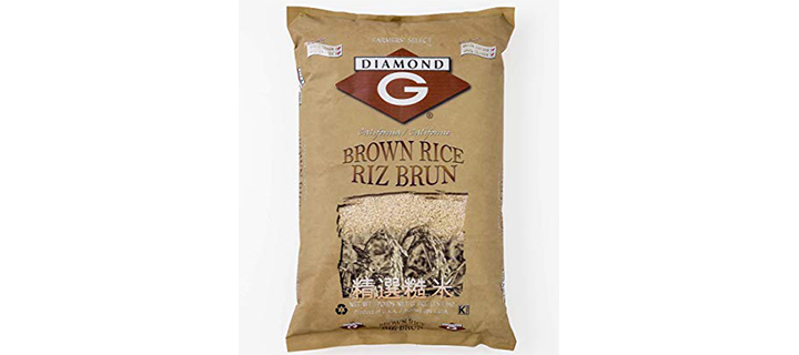 Diamond G Brown Rice