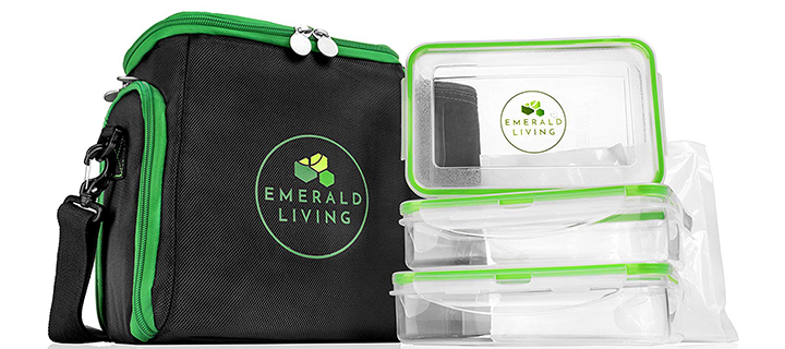 Emerald Living Meal Prep Bag