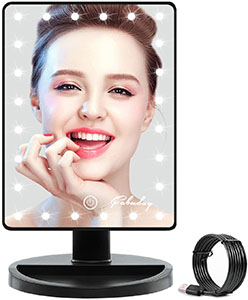Febuday Lighted Makeup Mirror