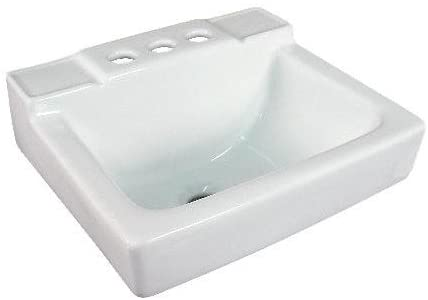 Fine Fixtures Wall Mount Small - White 14 x 12