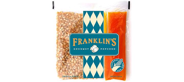 Franklin's Gourmet Movie Theatre Popcorn