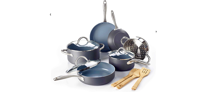 GreenPan Lima Ceramic Non-Stick Cookware Set