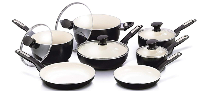 GreenPan Rio Ceramic Non-Stick Cookware Set
