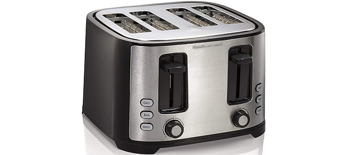 Hamilton Beach 4 Slice Extra Wide Slot Toaster