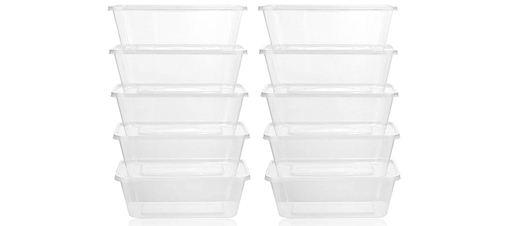 Healthy Packers Plastic Food Storage Containers