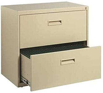 Hirsh SOHO 2-Drawer Lateral File Cabinet