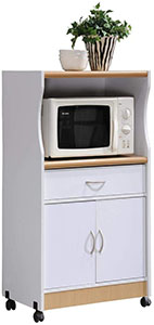 Hodedah Microwave Cart Stand