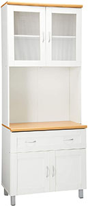 Hodedah Tall Standing Kitchen Cabinet