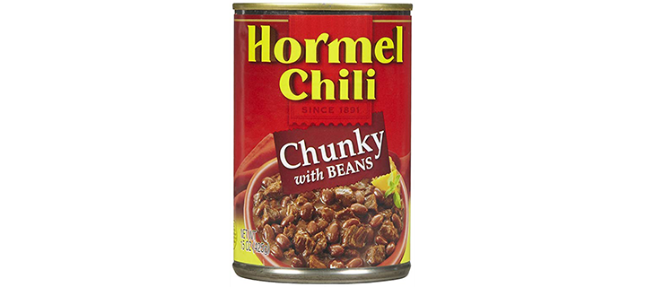 Hormel Chili Chunky with Beans