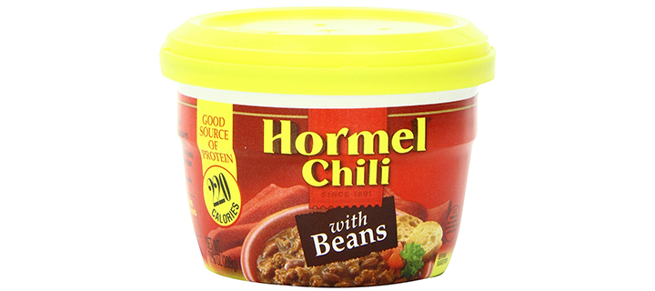 Hormel Chili Micro Cup with Beans