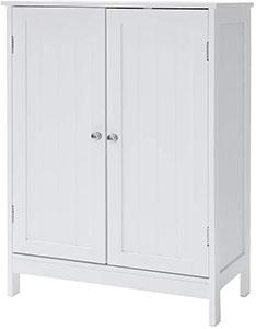 IWELL Bathroom Floor Storage Cabinet
