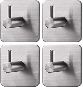 Jekoo 3M Adhesive Towel Hooks (4-pack)