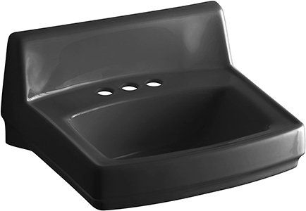 KOHLER K-2032-7 Greenwich Wall Mount Bathroom Sink