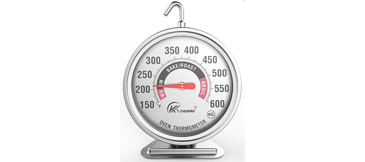 KT THERMO Large Dial Oven Thermometer