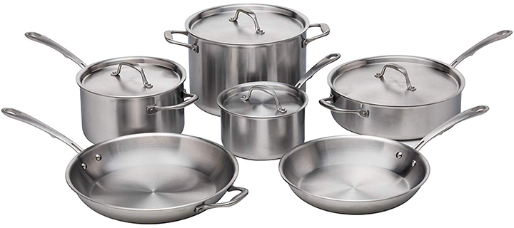 Kitchara Stainless Steel Cookware Set