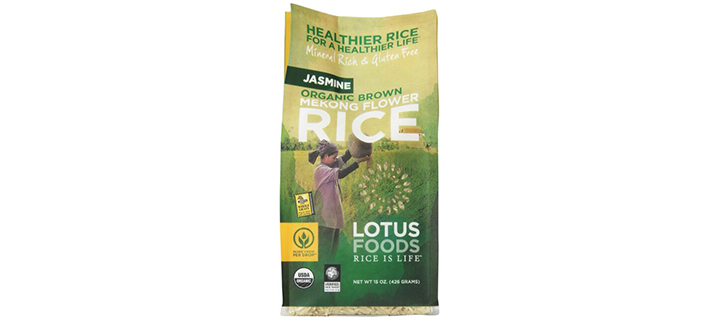 Lotus Foods Gourmet Organic Brown Jasmine Rice