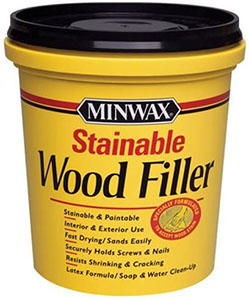 Minwax Stainable Wood Filler