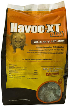 Neogen Rodenticide Havoc Xt Rat Bait
