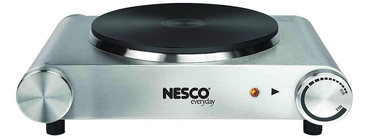 Nesco SB-01 Stainless Steel Electric Burner