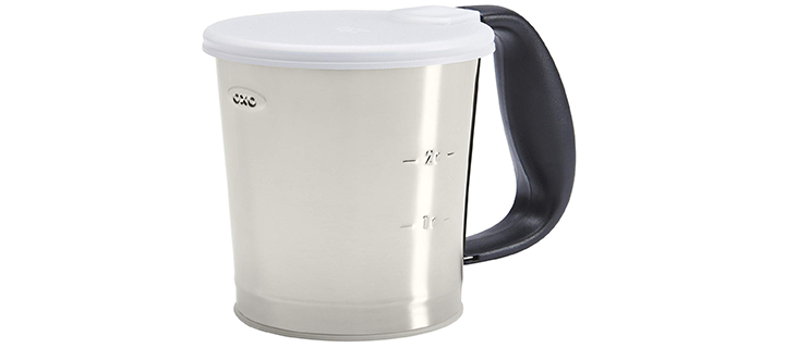 OXO Good Grips 3-Cup Stainless Steel Flour Sifter