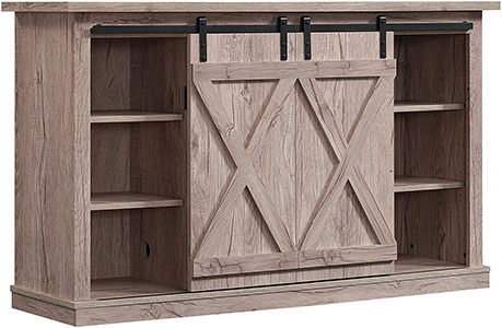 Pamari Wrangler Sliding Barn Door TV Stand
