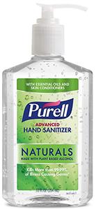 Purell Naturals Advanced Hand Sanitizer
