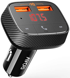 ROAV SmartCharge Wireless Bluetooth FM Transmitter